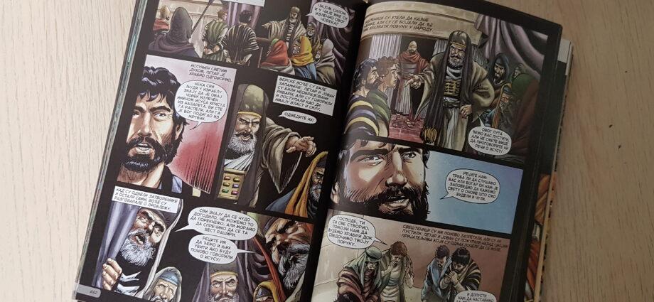 Komiksová bible evangelizace mládeže
