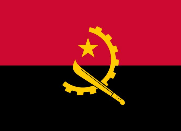 angola vlajka