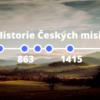 Historie českých misií timeline časová přímka protestantských misií www.ceskemisie.cz
